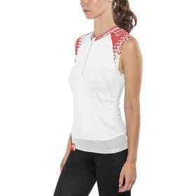 Compressport Trail Running Shirt Tank white